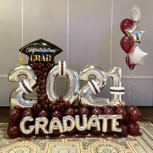 2021 Graduate Balloon Bouquet
