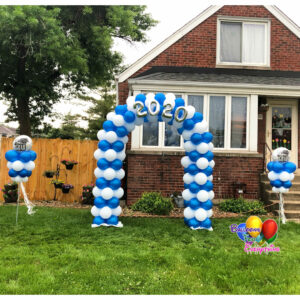 Graduation Balloon Yard Set