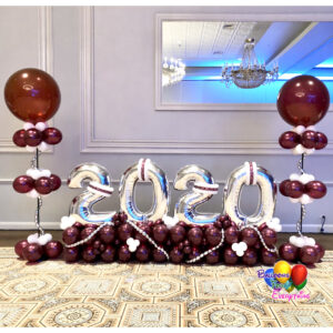 Celebrate Grad Balloon Decor