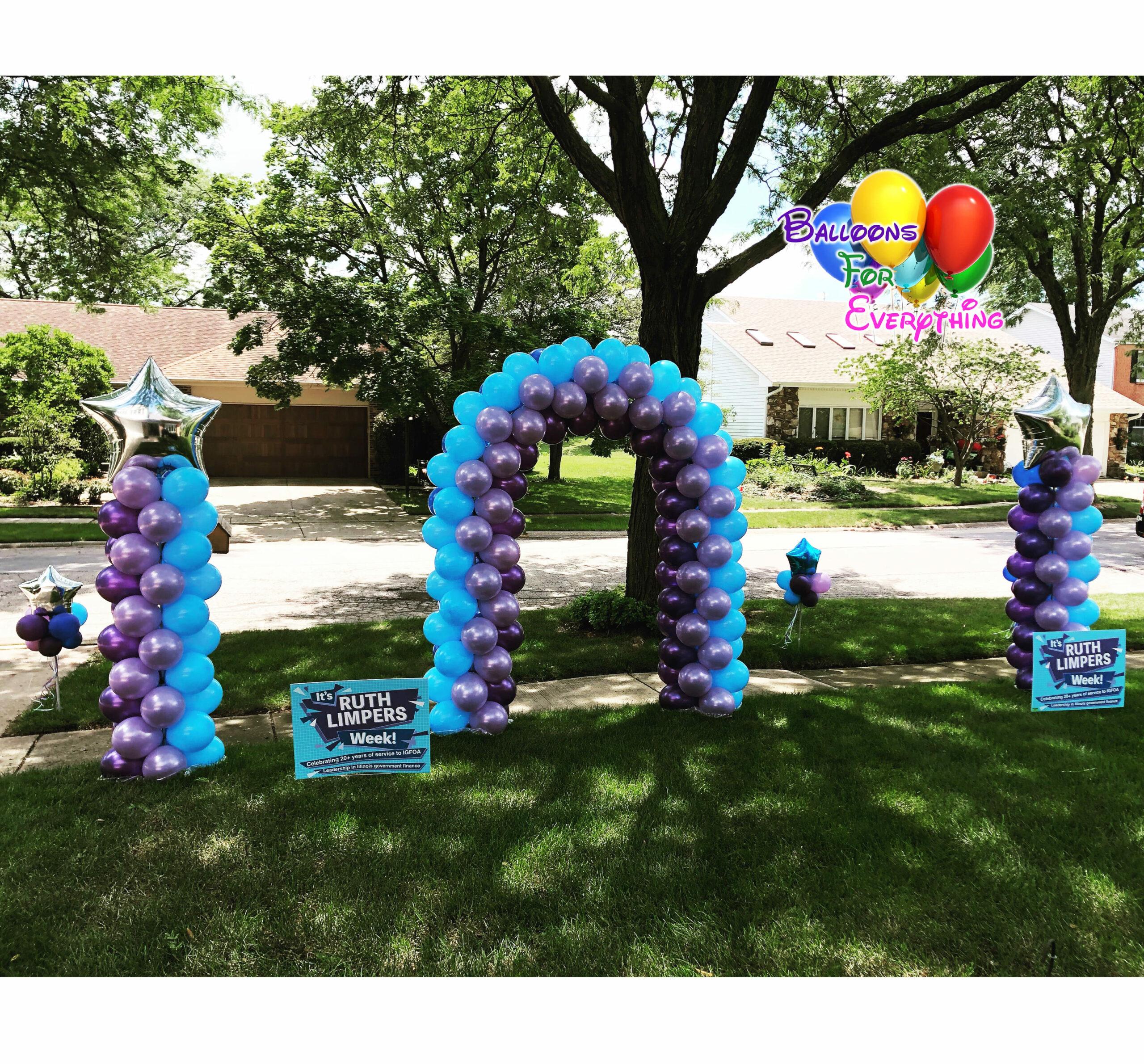 Celebrate Big Yard Balloon Set